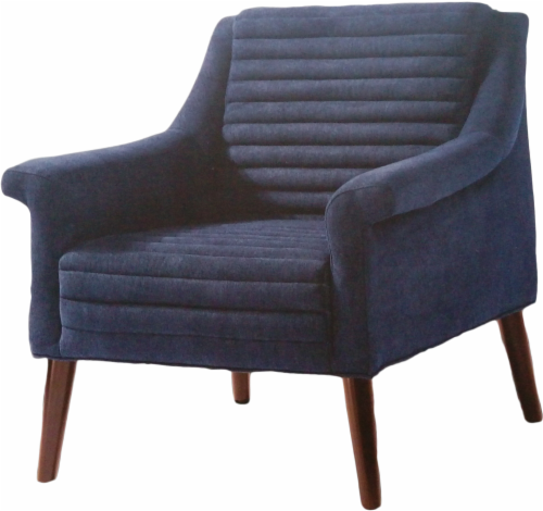 Tremendous Shop For Modavari Chandler Accent Chair Navy At Fred Caraccident5 Cool Chair Designs And Ideas Caraccident5Info
