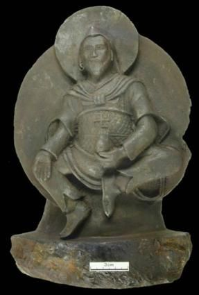 Buddhist 'Iron Man' found by Nazis is from space, a sculpture made from a meteorite.