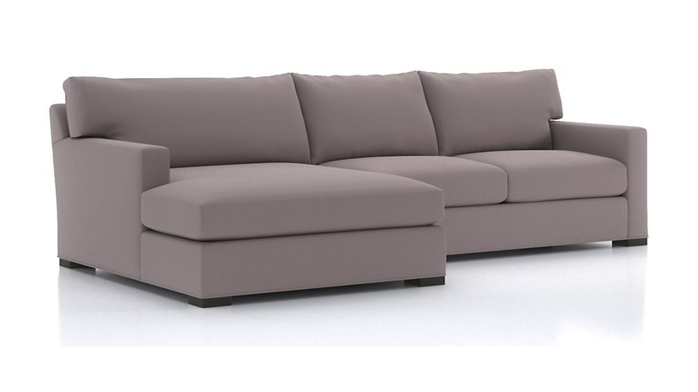 Axis Ii 2 Piece Left Arm Double Chaise Sectional Sofa In