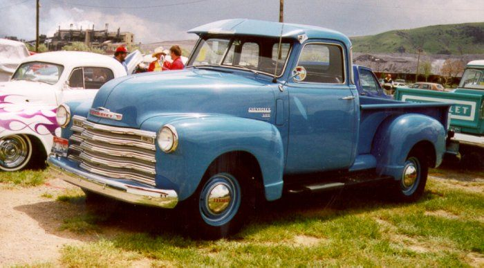 1940s Truck- basically Bryan's truck, only his is a really deep forest green