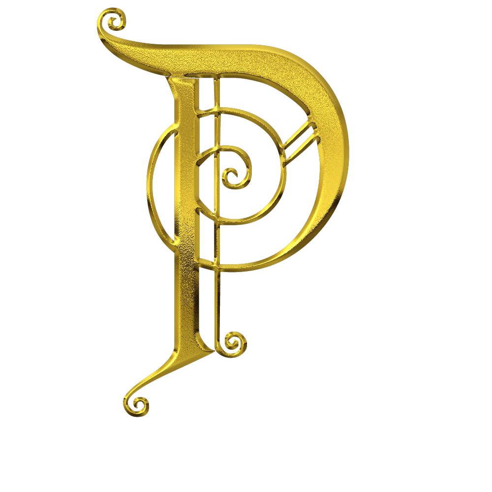 Pin On Gold Letter