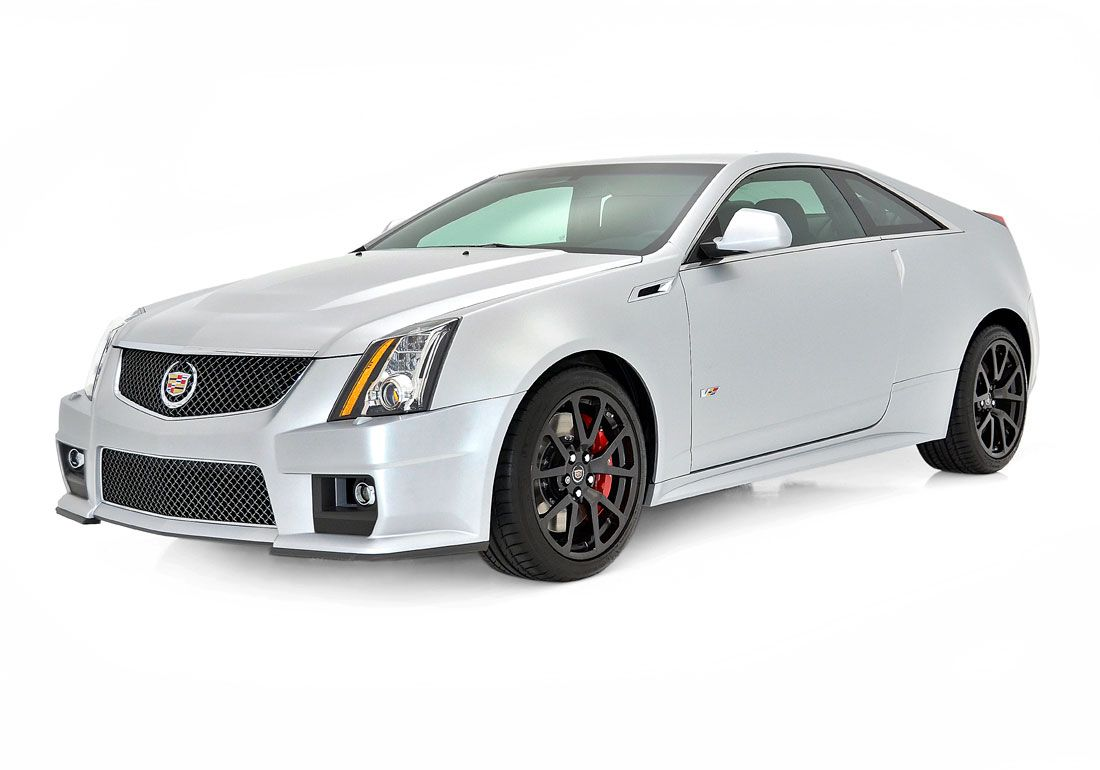 2013 Cadillac CTS V Coupe Silver Frost Cadillac