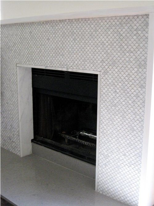 Pin on home is wherever i 39 m with you - How to reface a brick fireplace ...