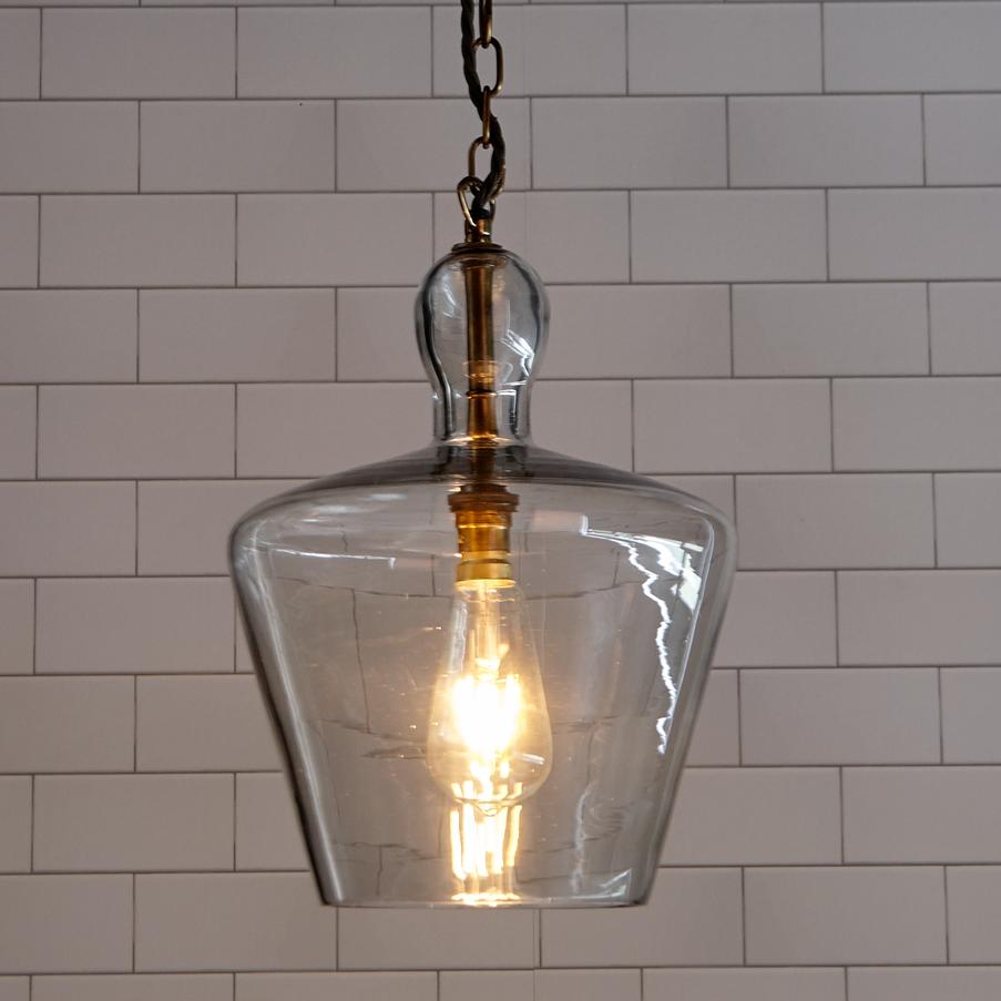 Glass Lighting Pendants Elegant Hand Blown Or Pendant