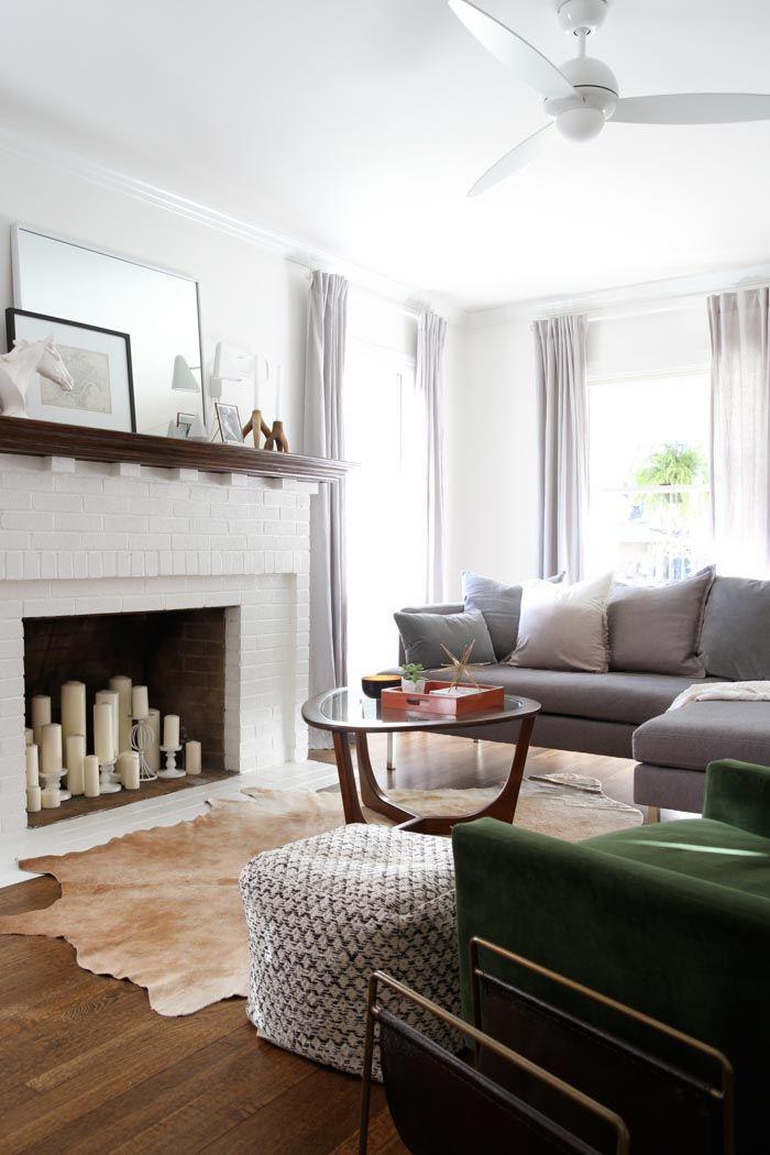 Color of fireplace Living Spaces Pinterest Living room - vorhänge für wohnzimmer