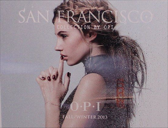 I know this is nail polish, but I LOVE the hair! (OPI San Francisco Collection for Fall/Winter 2013)