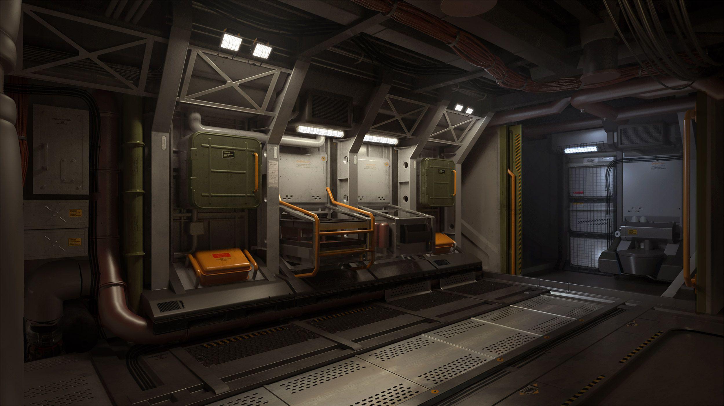 Pingl par daniil demchenko sur refs spaceships interior for Interieur vaisseau spatial