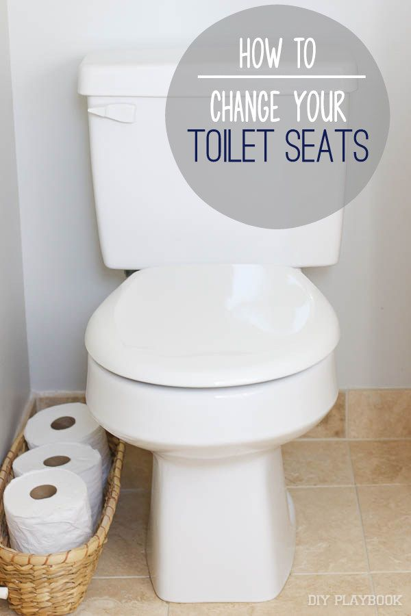 A Tutorial How To Change A Toilet Seat Toilet Seat Diy Toilet