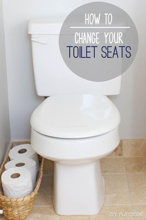 A Tutorial How To Change A Toilet Seat Toilet Seat Diy Toilet