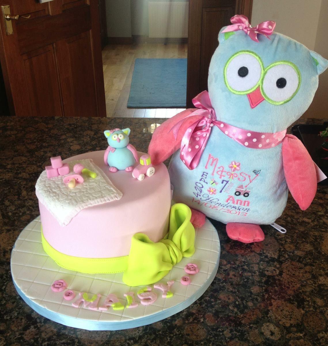New Baby Cake Cubbie Owl Edible Cubbie Owl Topper Cakes