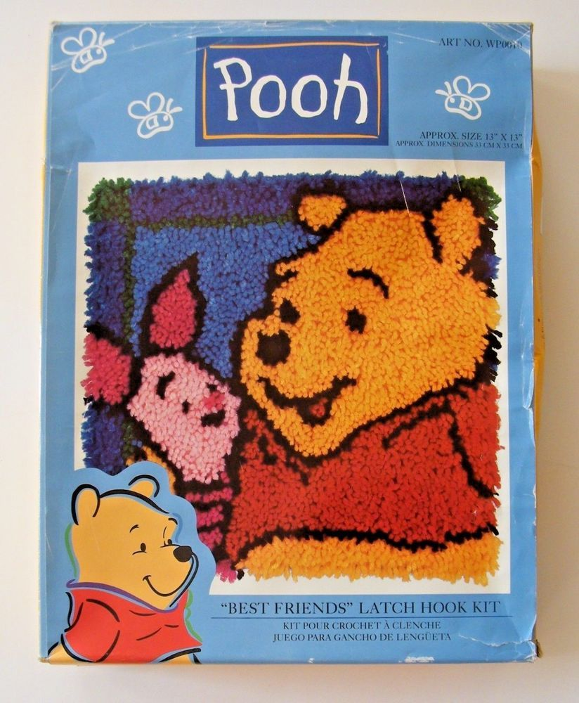 Best Friend Winnie the Pooh Latch Hook Kit
