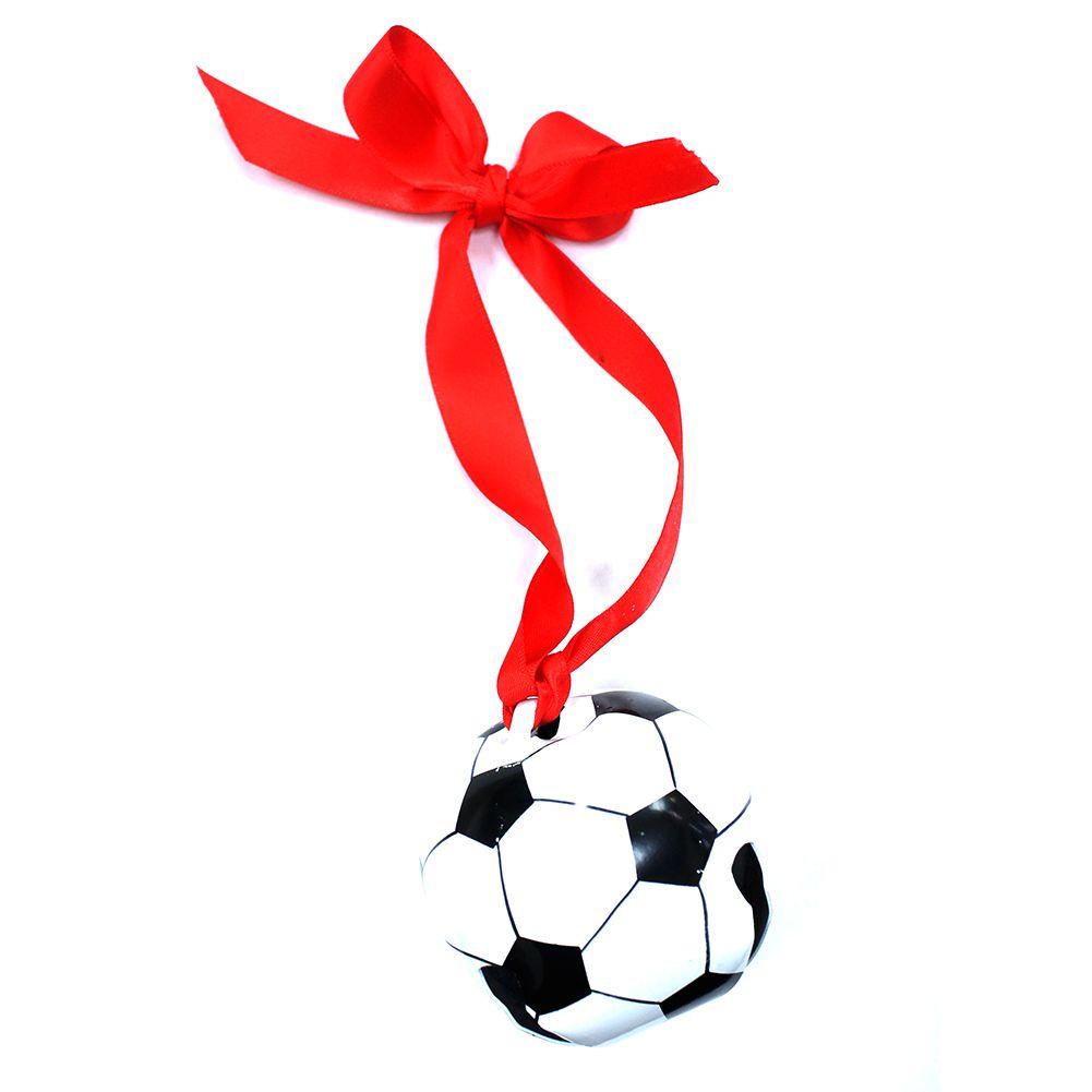 Soccer ornaments - Soccer Ball Jingle Bell Ornament