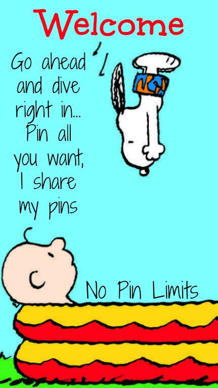 Go Ahead And Dive Right In Pin All You Want I Share My Pins No Pin Limits 3 Tam 3 Snoopy Snoopy And Woodstock Funny
