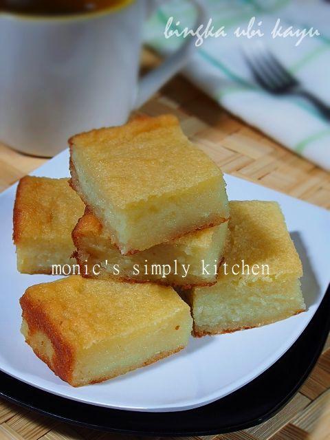 Bingka Ubi Kayu Bingka Singkong Monic S Simply Kitchen Resep Makanan Makanan Dan Minuman Makanan Manis