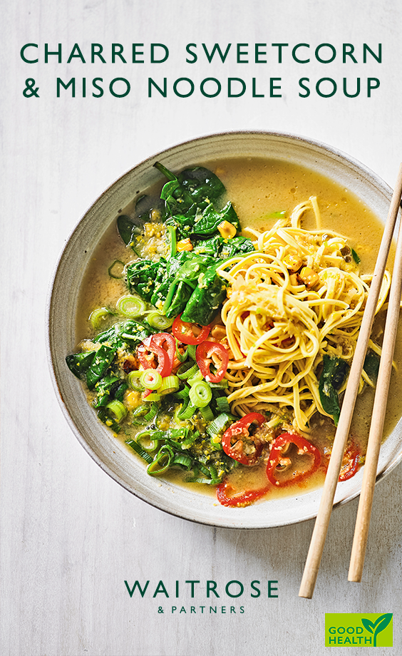 a bowl full of sunshine. serve our charred sweetcorn, miso