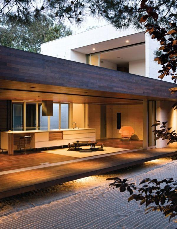 Architecture Japonaise Contemporaine Pour Une Maison Japanese