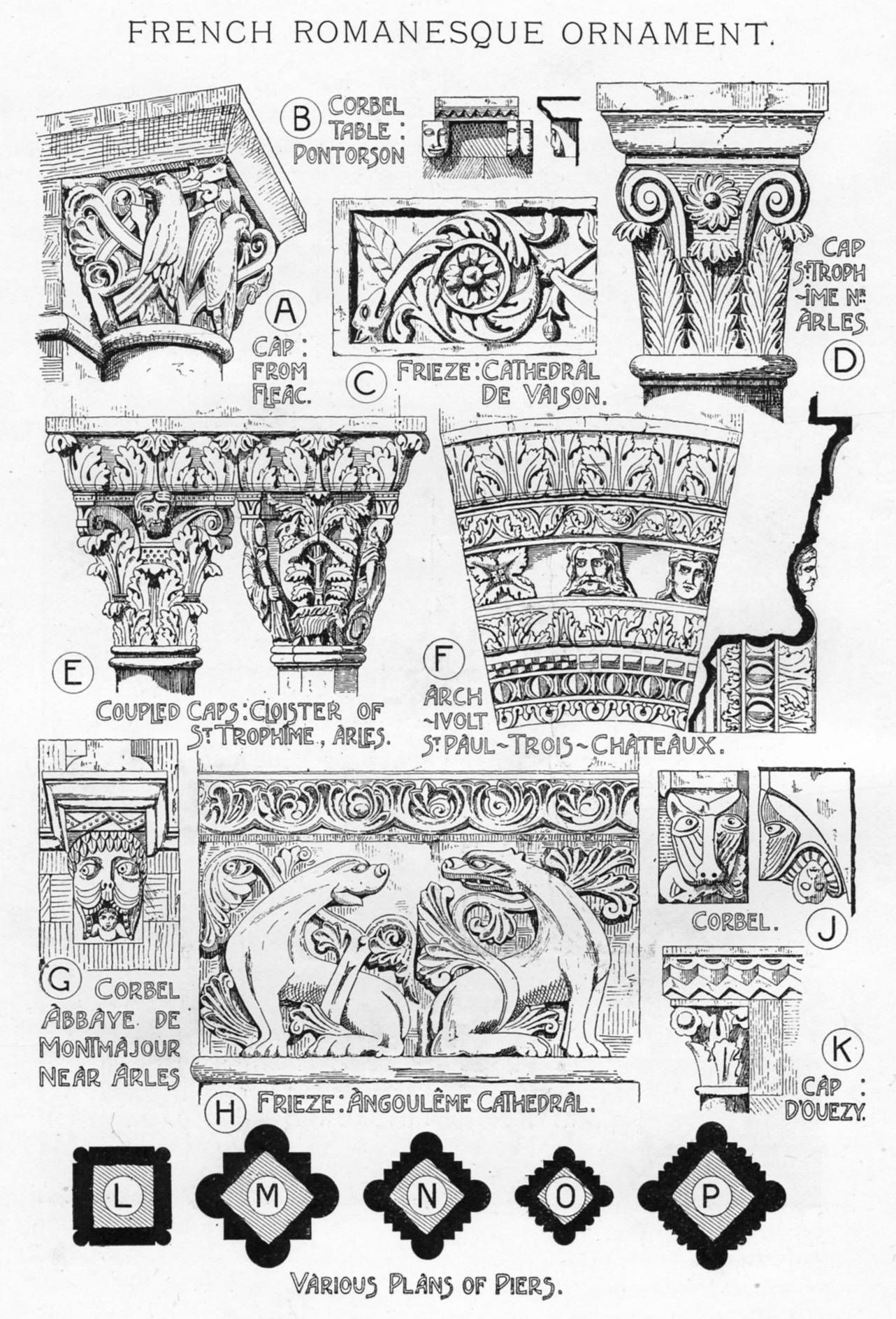 Ctorianweb Art Architecture Romanesque