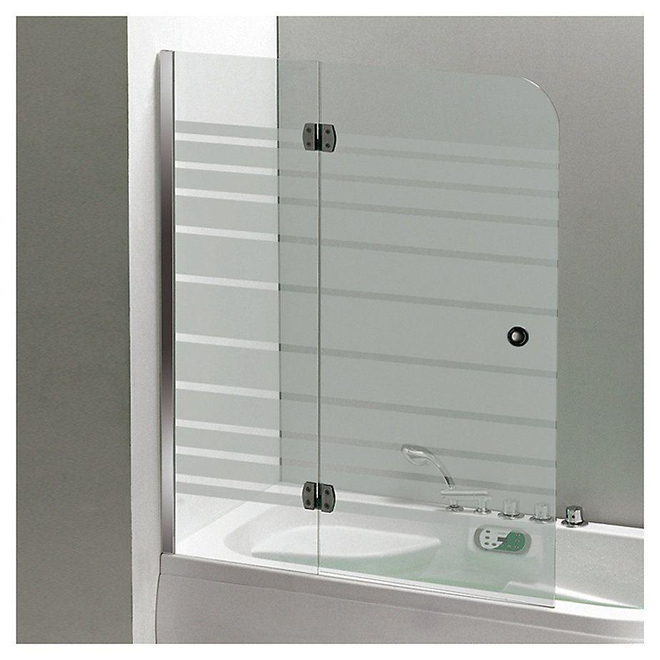 Mampara para ducha 120x150 cm vidrio templado en 2019 for Mamparas de vidrio templado para banos