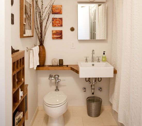 Easy Bathroom Decorating And Storage Ideas On A Budget