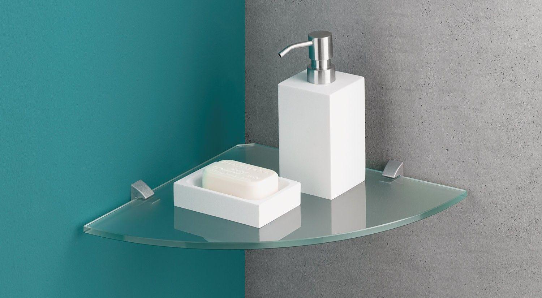 Corner Clip Eckregale Glas Mit Bildern Badezimmer Regal Regal