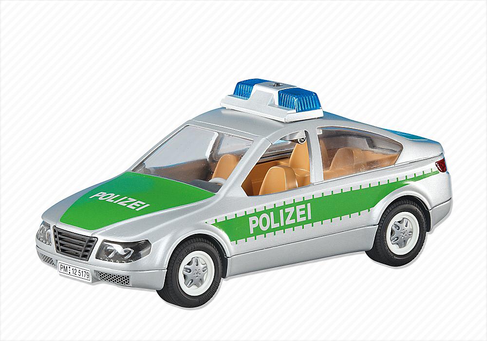polizeieinsatzwagen grün  pm germany playmobil