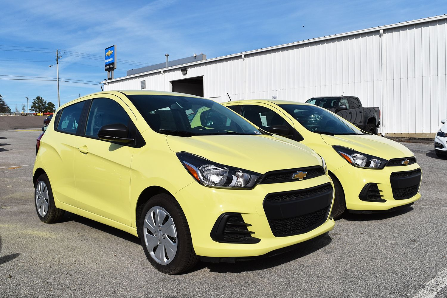 The best pollen defense the brimstone color on the 2017 chevy spark