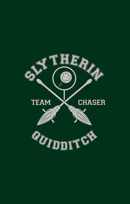 Slytherin Team Chaser Slytherin Aesthetics Em 2019 Mundo