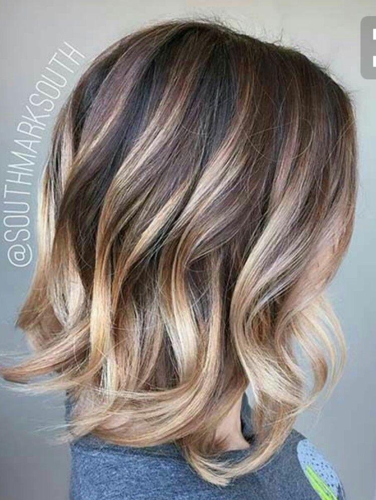 short ombre mom curls styles colors pinterest haar ideen haar und frisur. Black Bedroom Furniture Sets. Home Design Ideas