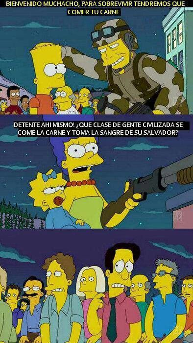 Cristianos Simpsons Divertidos Citas Simpsons Memes De Los Simpson
