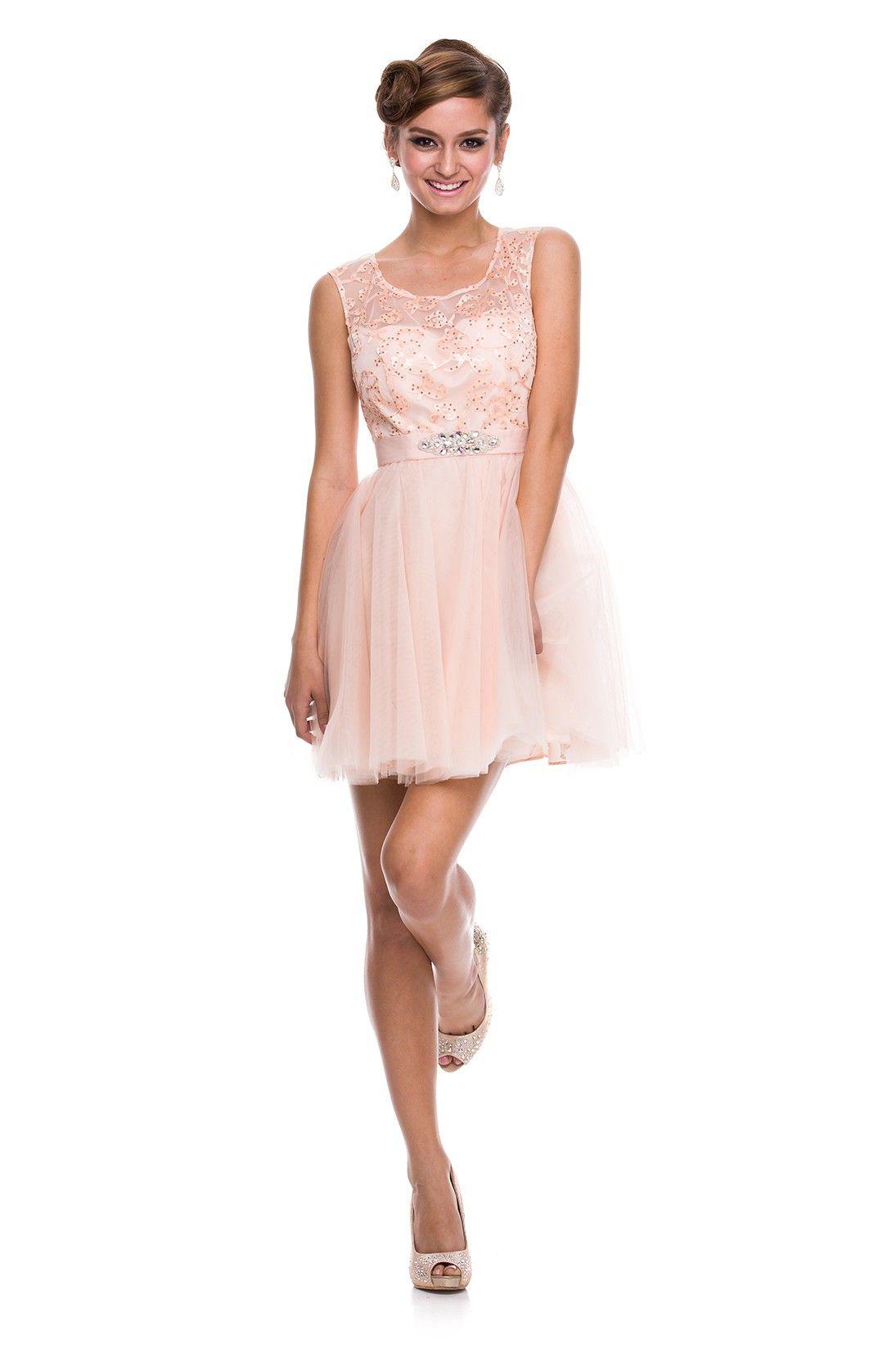 90851c4c220f 6021 - SHORT - ALL DRESSES -Nox Anabel Sort Cocktail Kjole