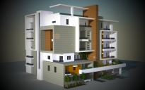 Medium Modern Apartments creation 6246