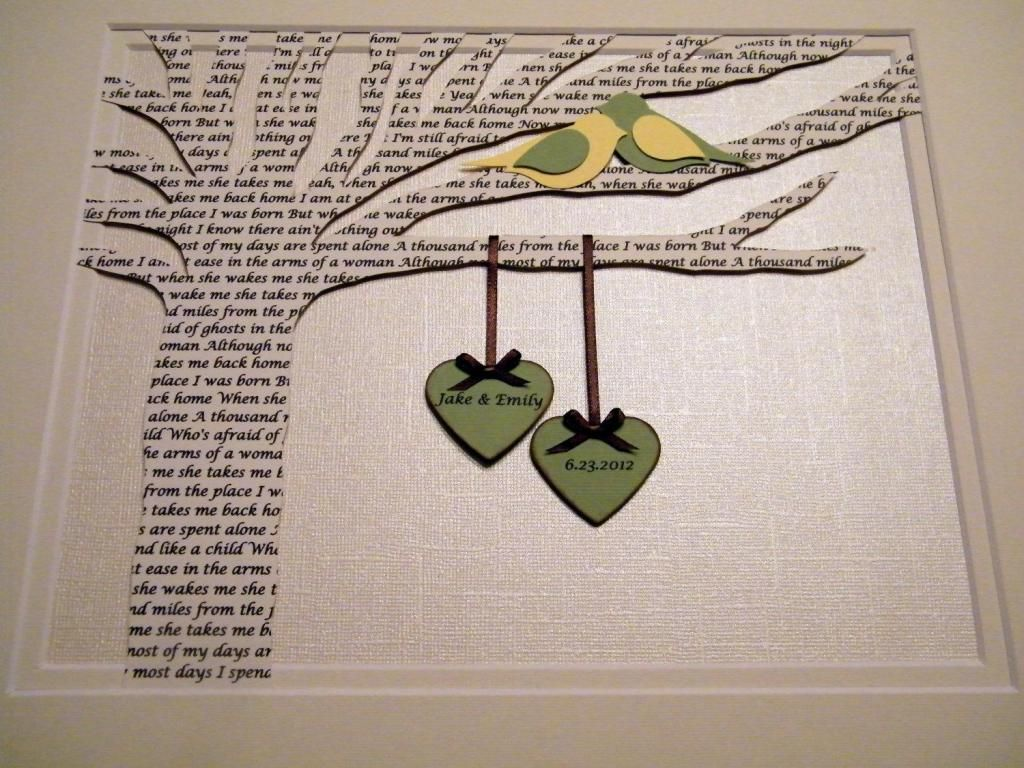 St wedding anniversary gift ideas for a couple arts