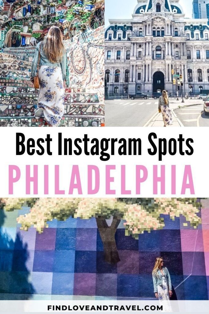 Find the most instagrammable places in Philly you won't want to miss! This detailed Instagram guide covers photo tips, exact locations and more for visiting Philadelphia. #Philly #Philadelphia #instagramspots | Philadelphia Pennsylvania | Philly Philadelphia | Philly Instagram | Philadelphia Photography | Philadelphia things to do | Instagrammable Places | Instagram spots | Instagrammable places in Philly