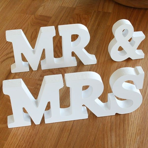 Wedding Photo Ideas Wooden Letters Wedding Decorations