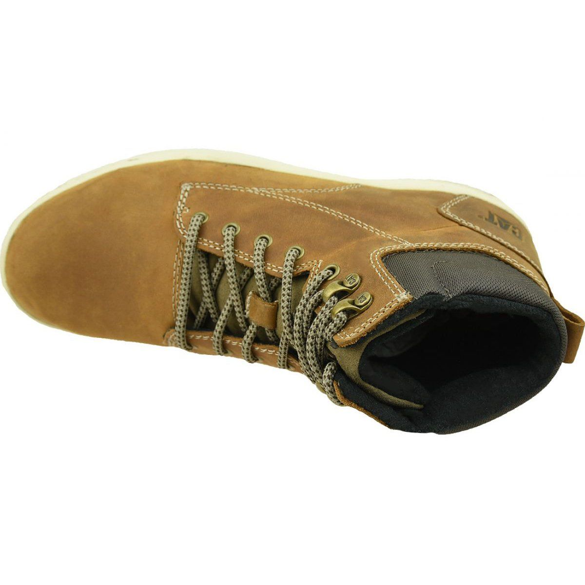 Buty Caterpillar Colfax Mid M P716680 Brazowe Vibram Sneaker Shoes Sneakers