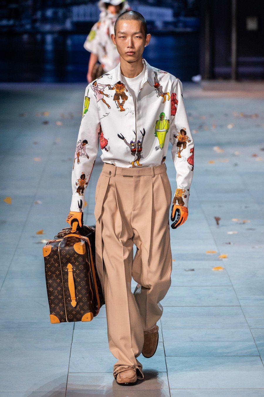 37aa30957e7e Louis Vuitton Fall 2019 Menswear Fashion Show in 2019