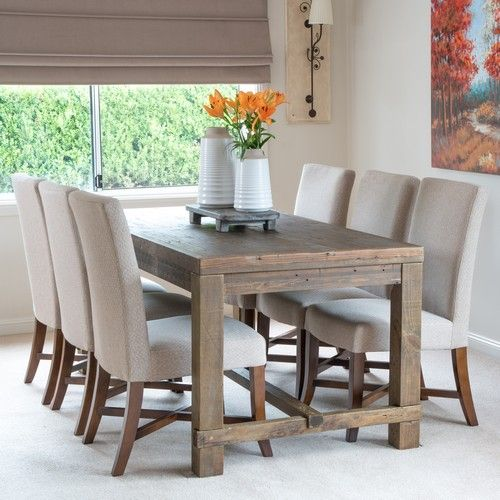 Allegro Dining Chair with Teak Legs (500W x 560D x 1000H mm) RRP