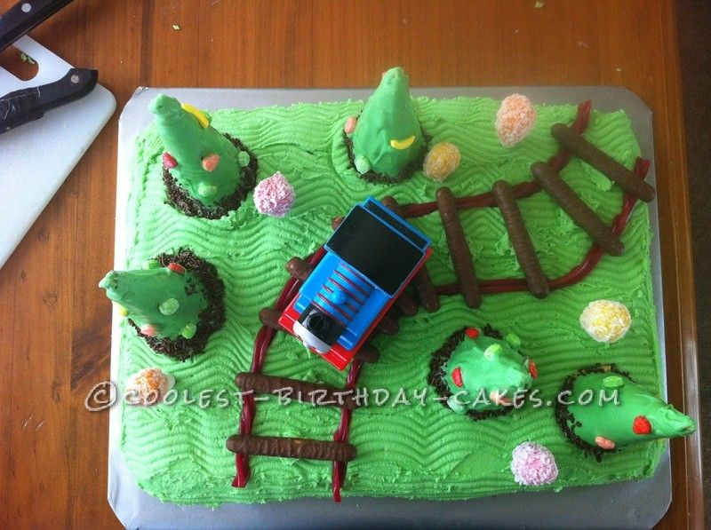 coolest train cake for a 2 year old boy - Website For 2 Year Olds
