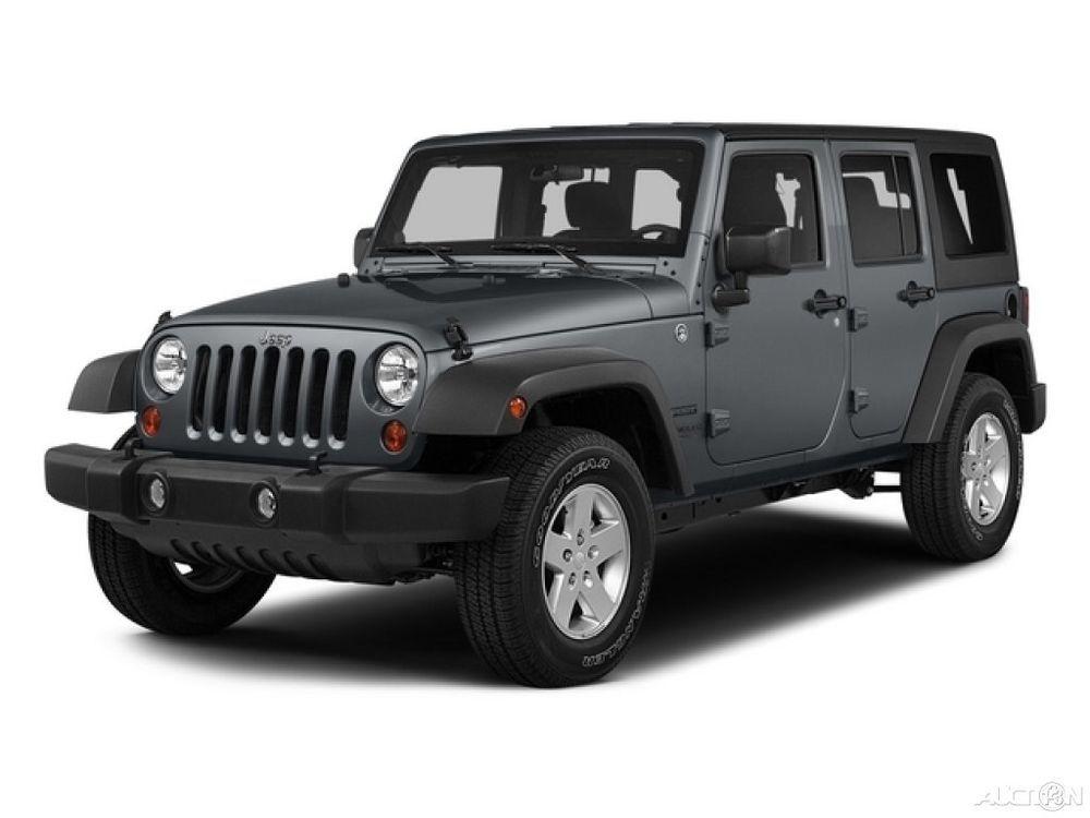 eBay Jeep Wrangler Sahara 2015 Sahara Used 3.6L V6 24V