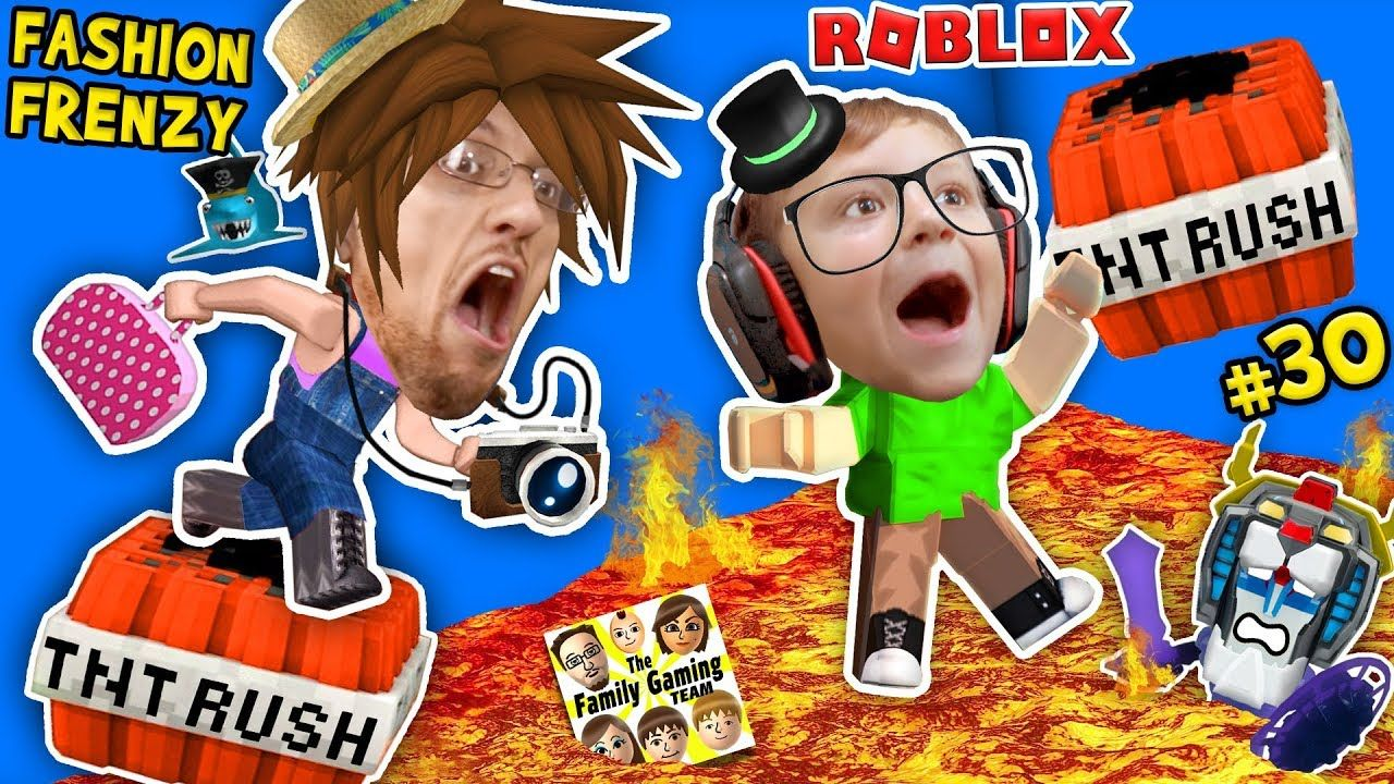 Roblox The Floor Is Lava Tnt Rush Fgteev Fashion Frenzy Best