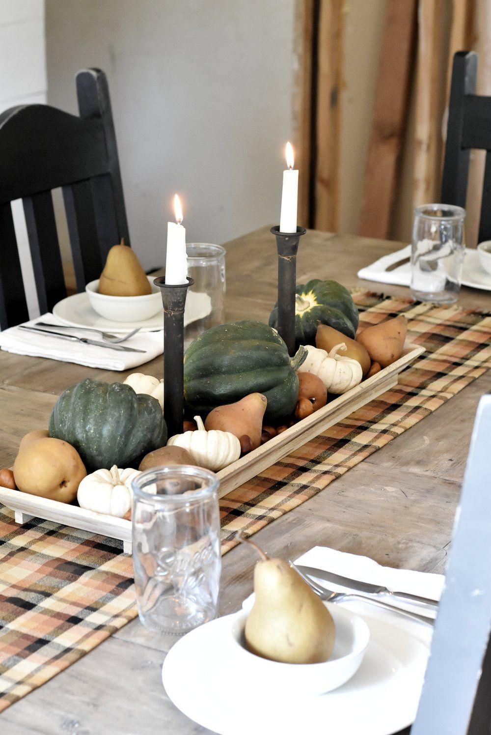 Fall farmhouse tour autumn home beautiful candles