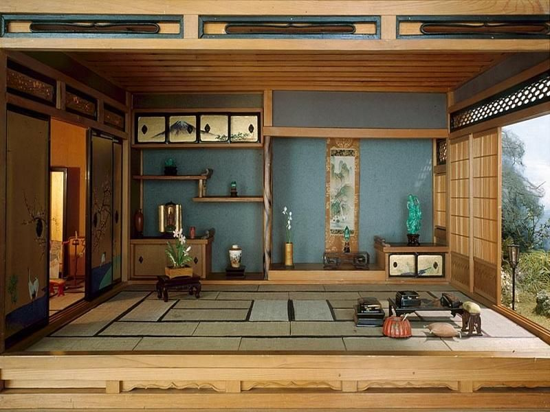 Traditional Japanese House Design with Stunning Forest Japan