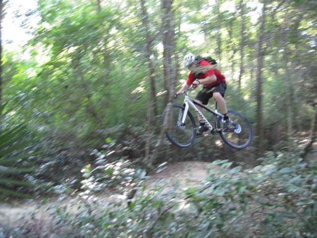 Can you catch air on a 29er?