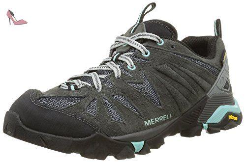 Merrell Capra, Chaussures de Randonnée Basses femme, Gris (Dragonfly), 39 EU