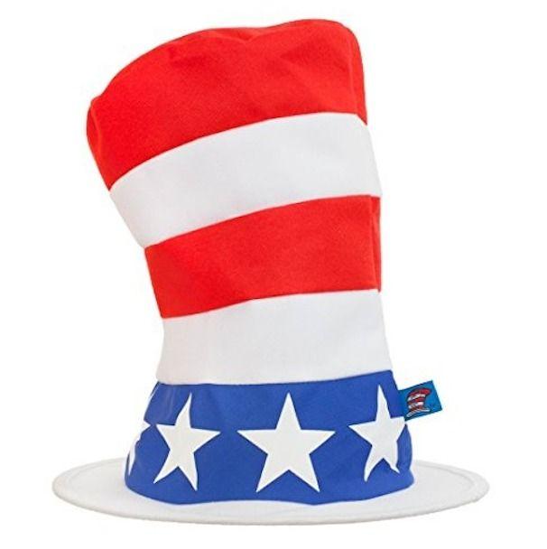 elope Dr Seuss Cat in The Hat Insta-Tux Costume Kit