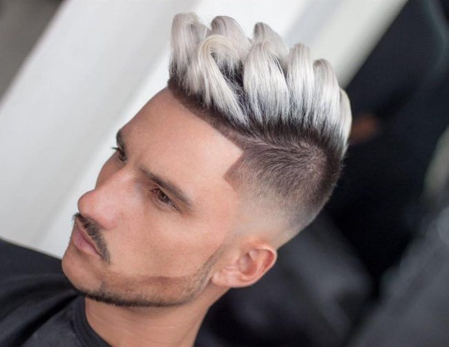Hair Color Ideas Mens Cut Pinterest Hair Coloring Silver - Hairstyle colour for man