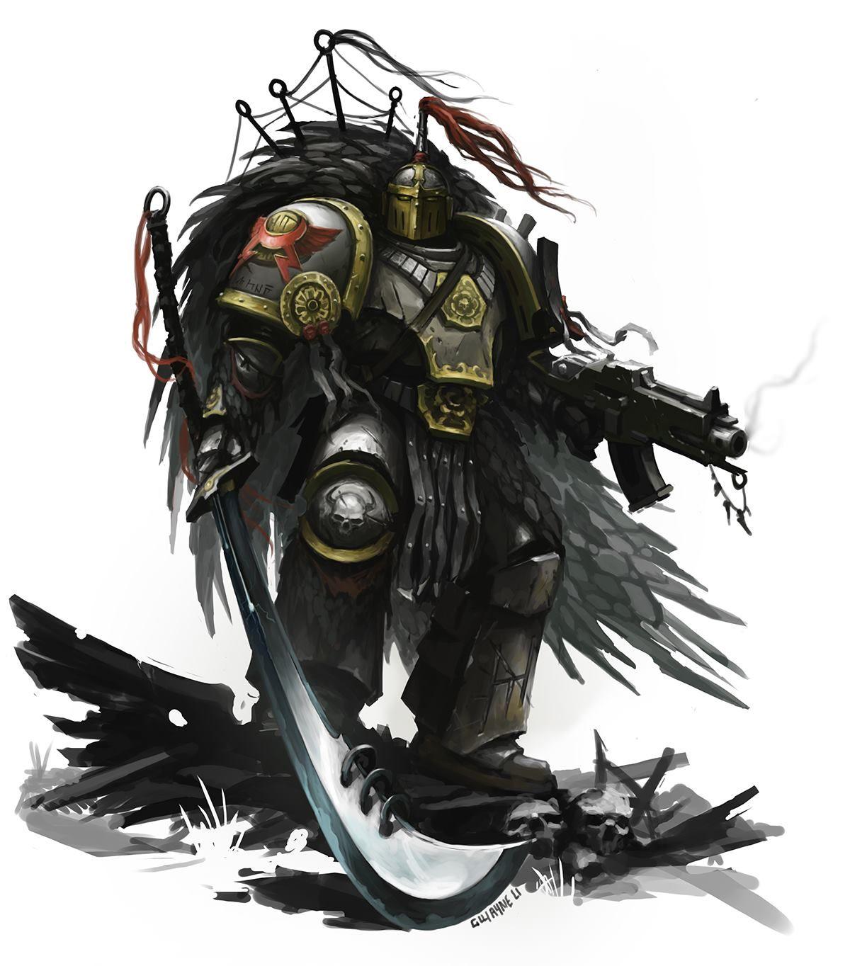 Steppe Snakes By Gwayne Li In 2020 Space Marine Art Warhammer 40000 Warhammer Art