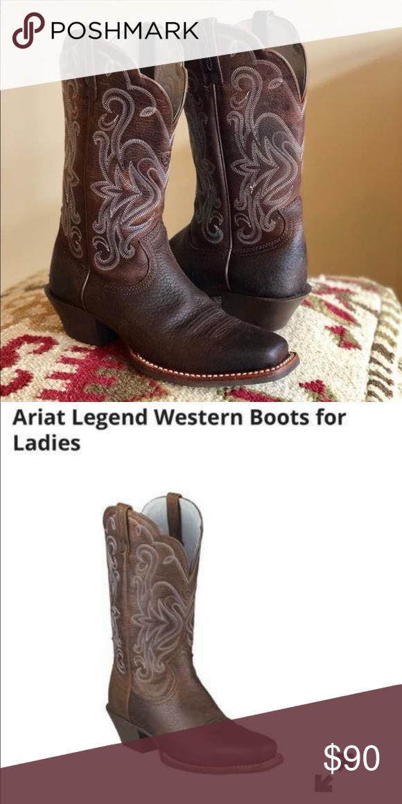 b5bb55a4ef4 Ariat Legend Western Boots (ladies) sz 5.5 Women's Ariat boots in ...