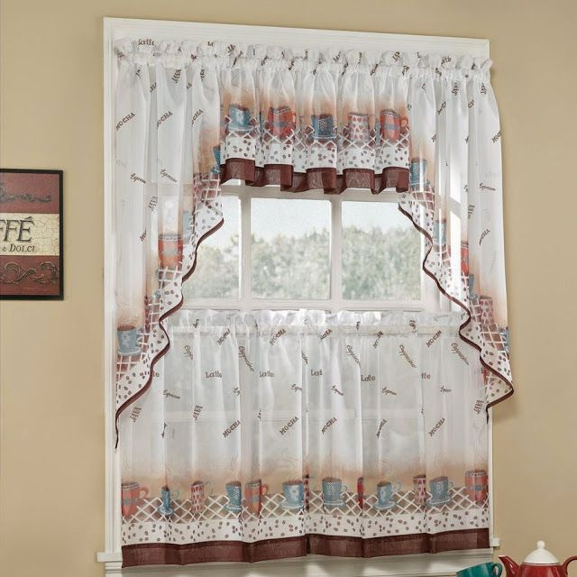 Kitchen Curtains Tiers And Swags. Kitchen Curtain Tier Sets. Kitchen Window  Curtain Tiers.