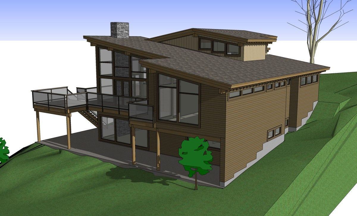 Small Contemporary Mountain Home Plans: The Modern Mountain Home Plans Of Our Collection Are